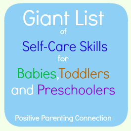 parenting self care skills