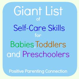 parenting self care skills