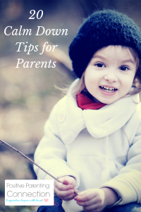 anger and parenting calm down tips